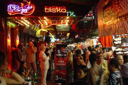 Quartier rouge Bangkok