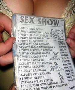 Ping Pong Shows et Sex Shows à Patpong