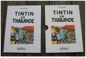 Tintin en Thaïlande PDF