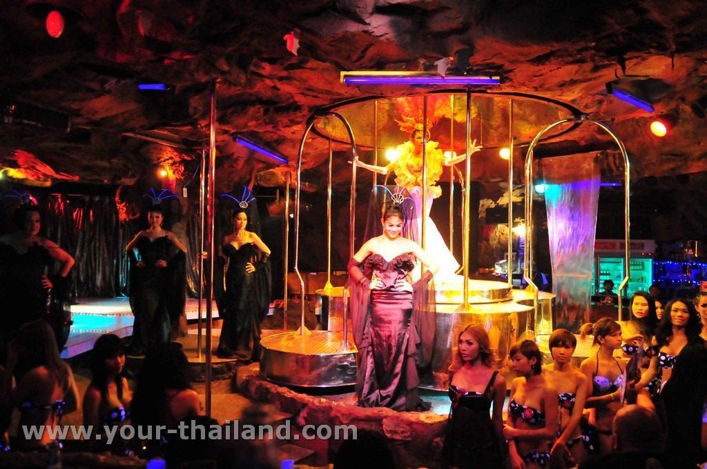 ladyboy show cascade gogo bar bangkok