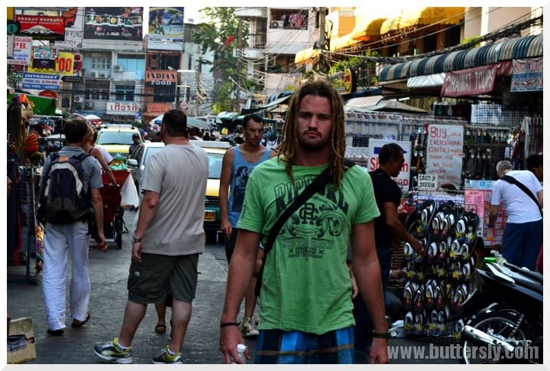 dreadlocks khao san road