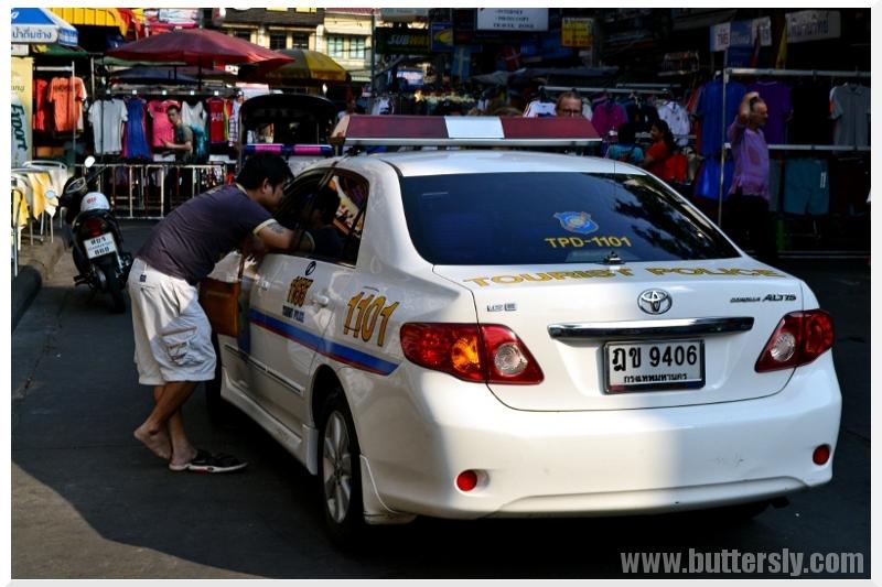 tourist police khao san road