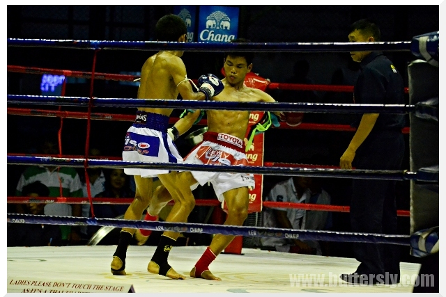 low kick muay thai