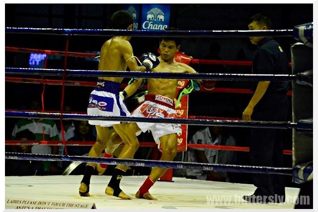 low kick muay thai